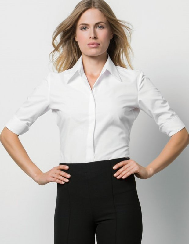 Continental Bluse mit 3/4 Arm