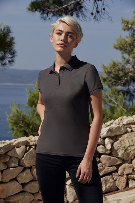 Damen Premium Poloshirt, Fruit of the Loom