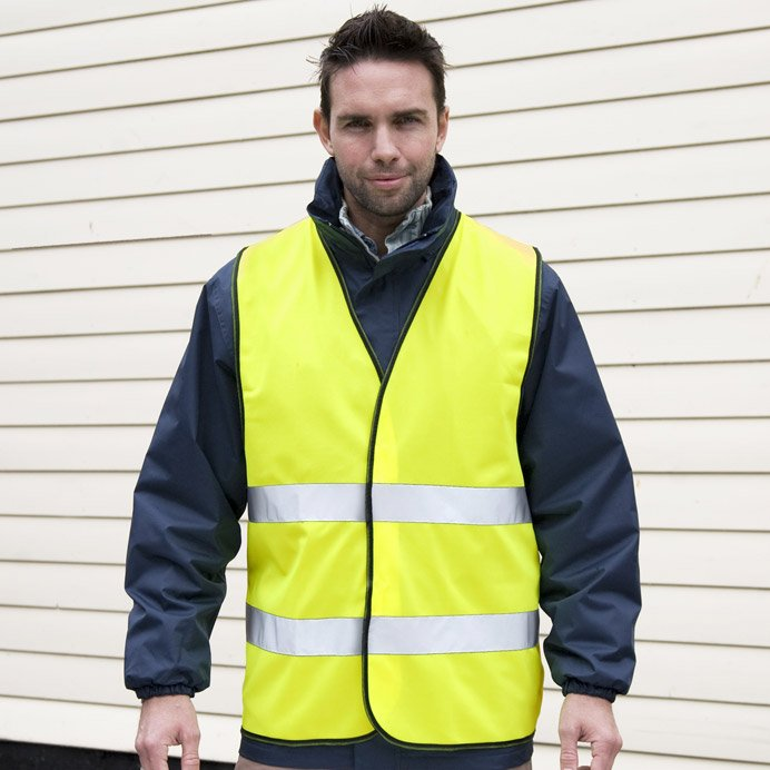 High Viz Motorist Safety Vest
