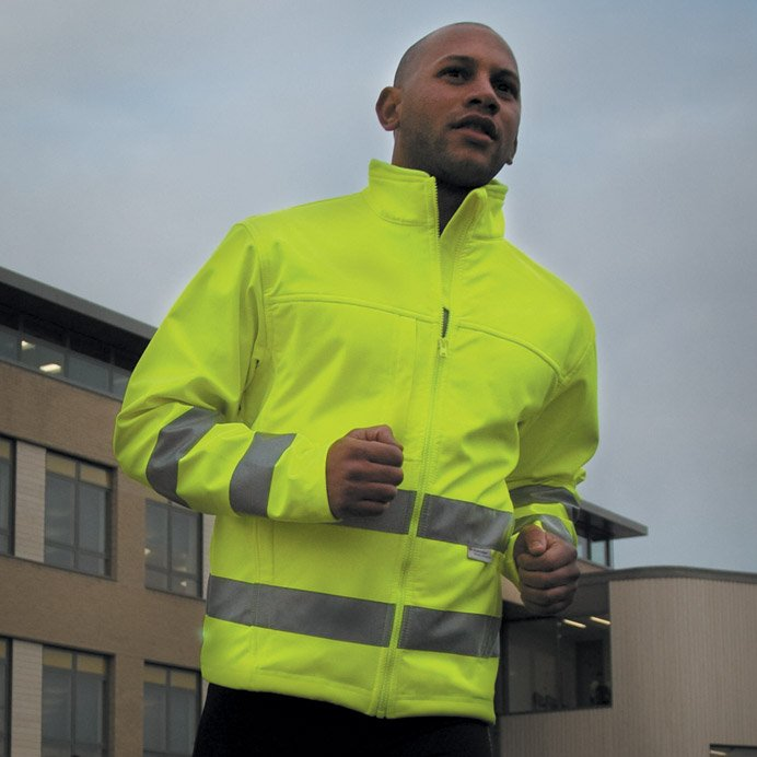 High-Vis Softshell-Jacke